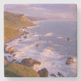 Redwoods coastline, California Stone Coaster