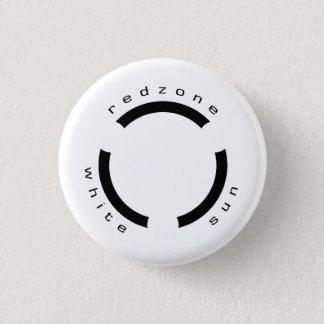 Redzone - WhiteSun Logo Badge 1 Inch Round Button