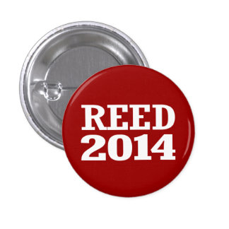 REED 2014 PINBACK BUTTONS