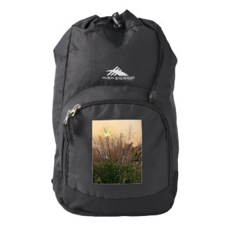 Reed At Sunset Backpack