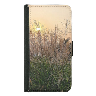 Reed At Sunset Samsung Galaxy S5 Wallet Case