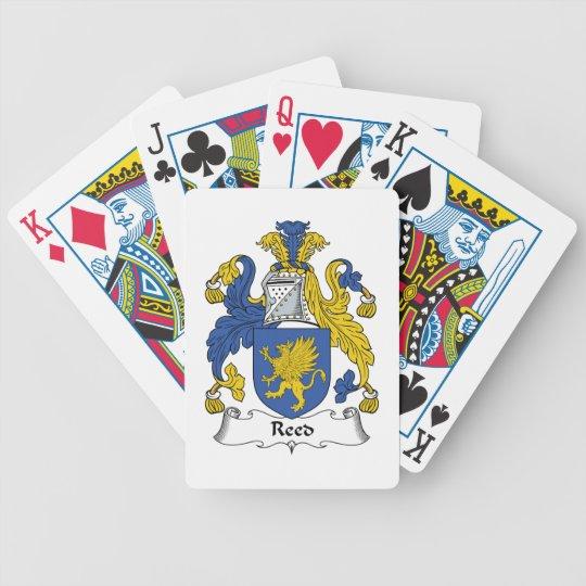 Reed Family Crest Poker Deck
