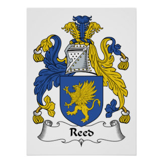 Reed Family Crest Poster