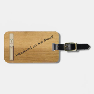 Reed for a Woodwind Musician Bag Tag