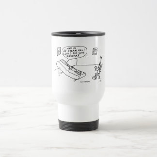 Reed Psychologist White Travel Mug