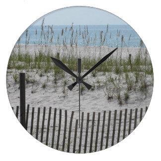 Reeds on the Beach Clocks
