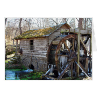 Reeds Spring Mill in January Card