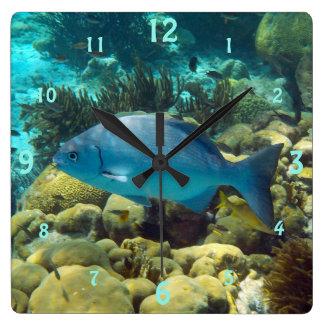 Reef Fish Wallclock