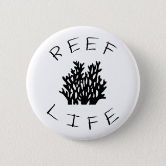 Reef Life 2 Inch Round Button