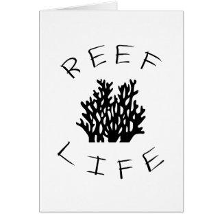 Reef Life Card