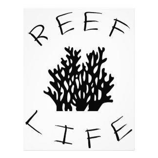 Reef Life Letterhead