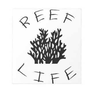 Reef Life Notepad