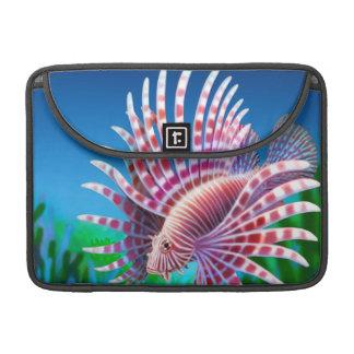 Reef Lionfish Rickshaw Flap Sleeve Sleeves For MacBooks