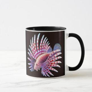 Reef Lionfish Ringer Mug