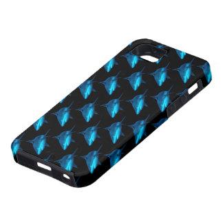 Reef Shark Against Back Background Tiled iPhone 5 Case