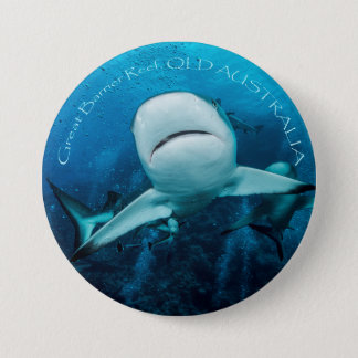 Reef Shark Button