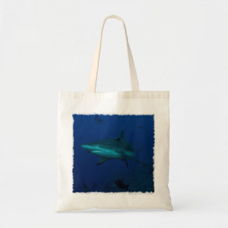 Reef Shark on the Great Barrier Reef Budget Tote Bag
