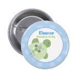 REEF TURTLE NAME TAG Personalized Button