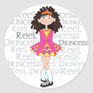 Reel Brunette Sticker