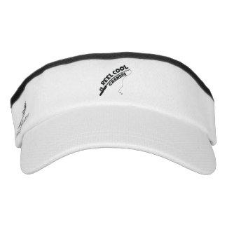 Reel cool grandpa fishing tshirt visor