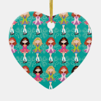 Reel Princesses Ceramic Ornament
