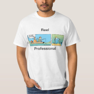 Reel Professional Fishing Joke T-Shirt