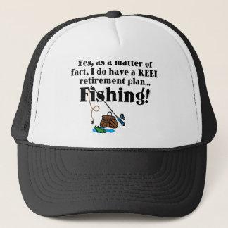 Reel Retirement Plan Trucker Hat