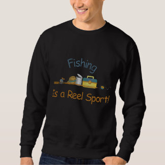 Reel Sport Fishing Embroidered Sweatshirt