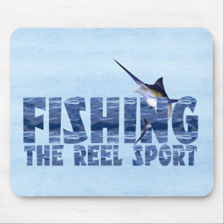 Reel Sport Mouse Pad