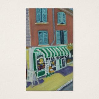 REELBOOKS -FONTAINEBLEAU FRANCE BUSINESS CARD