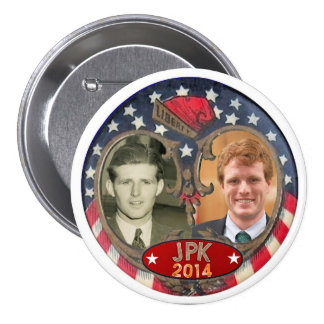 Reelect Joe Kennedy in 2014 3 Inch Round Button