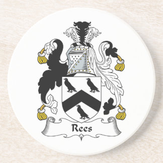 Rees Family Crest Coaster