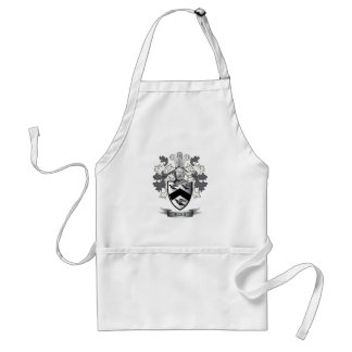 Rees Family Crest Coat of Arms Standard Apron