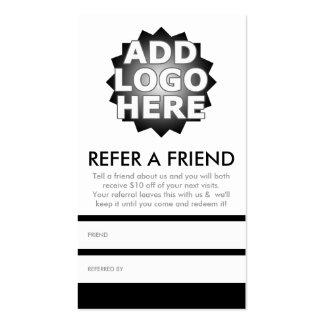 refer a friend program template