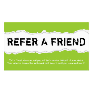 Refer a friend program template refer a friend page rip color customizable business card templates colourmoves