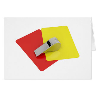 Referee attributes card
