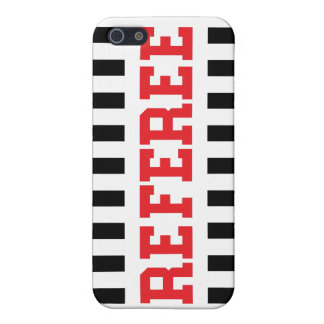 Referee black and red design iPhone 5/5S cases