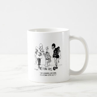 Referee Cartoon 5446 Coffee Mug