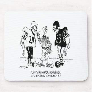 Referee Cartoon 5446 Mouse Pad