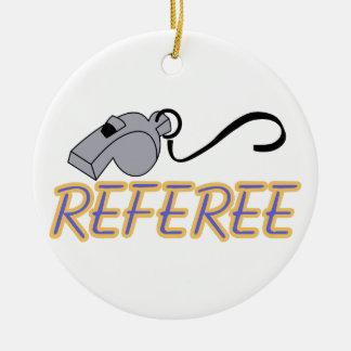 Referee Ceramic Ornament