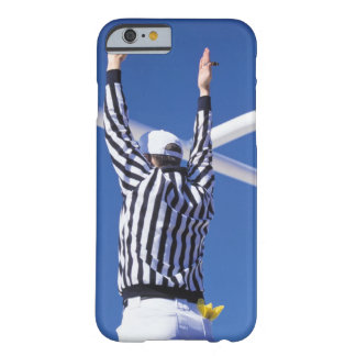 Referee signaling touchdown or successful field barely there iPhone 6 case