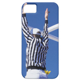 Referee signaling touchdown or successful field iPhone 5 cases
