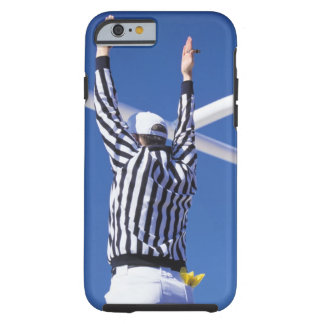 Referee signaling touchdown or successful field tough iPhone 6 case