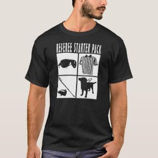 Referee Starter Pack Funny design. T-Shirt