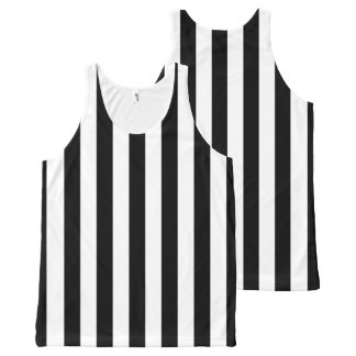 Referee Stripes All-Over-Print Tank Top
