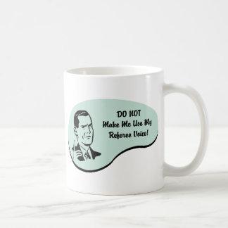 Referee Voice Coffee Mug