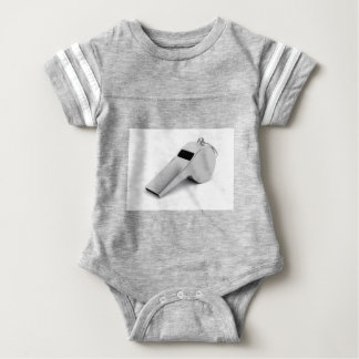 Referee whistle baby bodysuit
