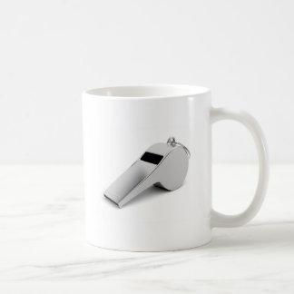Referee whistle coffee mug