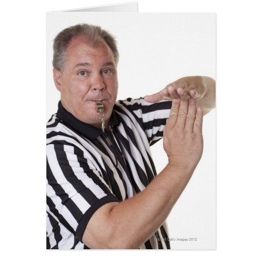 Referee Time Out Signal