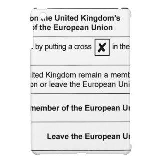 Referendum Remain in EU iPad Mini Covers